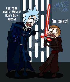 Star Wars Rick and Morty