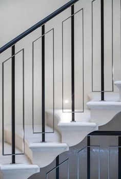 The Next Level: 14 Stair Railings to Elevate Your Home Design Stair Railing Ideas design Elevate Home Level Railings stair The Next Level: 14 Stair Railings to Elevate Your Home Design Stair Railing Idea. Marcel House The Next Level: 14 St Staircase Railing Design, Modern Stair Railing, Balcony Railing Design, Staircase Handrail, Modern Stairs, Railing Ideas, Staircases, Banisters, Staircase Design Modern