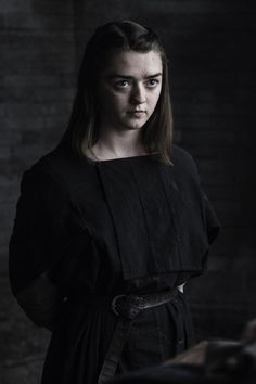Maisie Williams as Arya Stark in Game of Thrones Maisie Williams, Arte Game Of Thrones, Game Of Thrones Arya, Sansa Stark Season 6, Watchers On The Wall, Photo Games, The North Remembers, Hbo Series, Winter Is Here