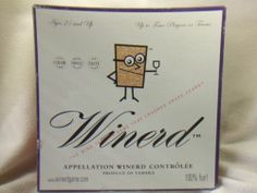 Winerd Board Game Wine Nerd Wine Tasting Game Ages 21 2 4 Players Complete | eBay