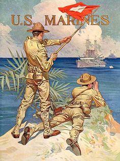 J.C. Leyendecker - U. S. Marines by Mamluke, via Flickr