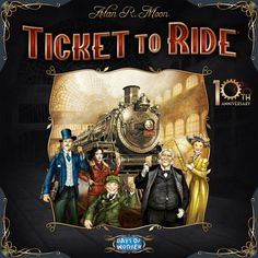 Ticket to Ride: 10th Anniversary | Image | BoardGameGeek