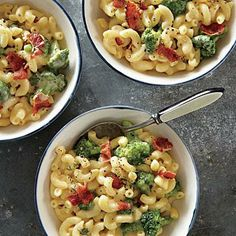 Broccoli Mac and Cheese | CookingLight.com #myplate #dairy #protein #veggies