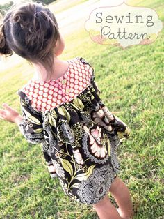 Cute dress pattern for little girls