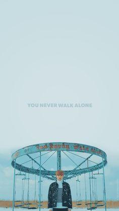 Jungkook || YOU NEVER WALK ALONE WALLPAPER