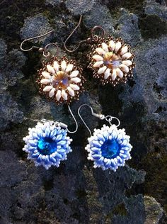 Tutorial / pattern earrings superduo
