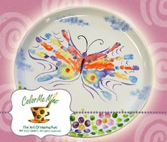 Hands down... a very pretty hand painted platter.