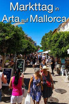 Der Markt in Arta ist einer der schönsten Wochenmärkte auf Mallorca. Und das zu Recht! #Mallorca #Reisen #Reise #Arta #Majorca #urlaub