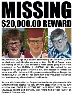 A boy from my hometown has gone missing. PLEASE PIN to help get the word out #HelpFindBrogan