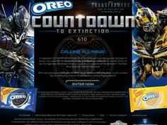 OREO Countdown to Extinction and Win Sweepstakes