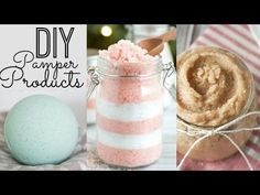 Bath Bombs, Sugar Scrub, & Bath Salts! | DIY Gifts ♡ - YouTube
