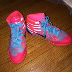 Kobes Boys size 5.5 worn twice good condition Nike Shoes Athletic Shoes