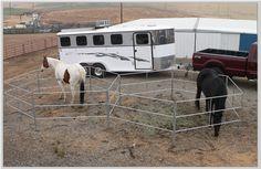 Double Horse Corrals 13x13