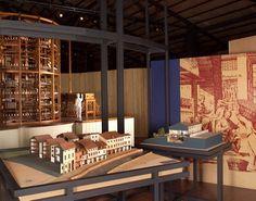 Bologna Città della Seta: Plastico del Mulino Rizzardi - Foto Museo del Patrimonio Industriale