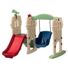 Little Tikes Endless Adventures Swing Along Castle - Charlie's Christmas present (I think)