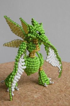 30 Examples of Decorative and Colorful Bead Art Creation | Naldz ...