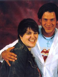 #ChristianKane and fan..  no name given.. shared on coolspotters > http://coolspotters.com/actors/christian-kane/and/activities/smiling#medium-448986