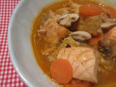 Low Carb Rezepte von Happy Carb:  Fischsuppe Thai-Style.