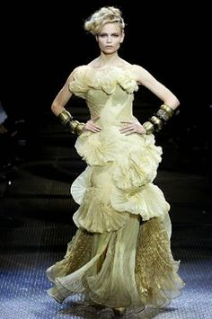 haute couture clothing