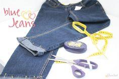 Grünstich hat ein schönes Tutorial geschrieben, mit dem Ihr Jeans kürzen könnt. Das Besondere: Der Originalsaum mit der typischen dicken Naht bleibt erhalten.
