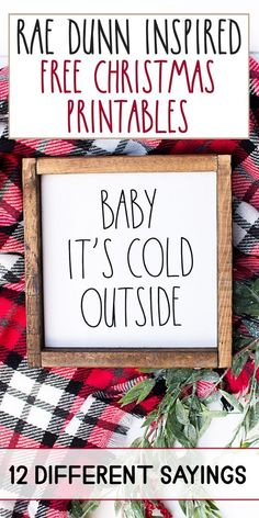 Rae Dunn Inspired Printable Christmas Signs with Cut Files, DIY Event, Merry Christmas, Best Christmas Gifts, All Things Christmas, Winter Christmas, Christmas Holidays, Christmas Girls, Christmas Presents For Dad, Best Christmas Quotes, Christmas Fonts