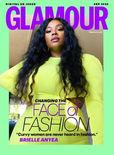 Brielle Anyea Cool Magazine, Magazine Covers, Online Modeling, Plus Size Brands, Glamour Uk, Curvy Women Fashion, Plus Size Model, Fashion Line, Journals