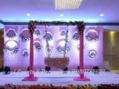 Birthday Balloon Decorations, Wedding Stage Decorations, Baby Shower Decorations For Boys, Backdrop Decorations, Garland Wedding, Festival Decorations, Background Decoration, Baby Decor, Flower Decorations
