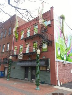 Love this building.....the art world is taking over downtown Canton Ohio...a lot of talent is displayed throughout downtown Canton... Canton Ohio, Art World, Pergola, Outdoor Structures, Memories, Display, Building, Memoirs, Floor Space