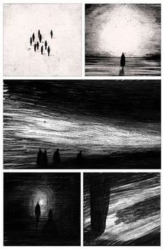 Darkness In Light - Patrick Atkins Illustration