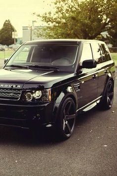 Blacked out Range Rover #1 Dream Car!!!!