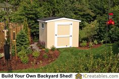 Pictures of Backyard Shed Plans