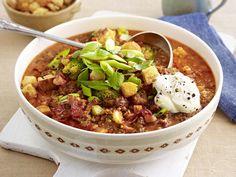 Eintopf - deftige Suppen mit ganz viel drin - bolognese-eintopf