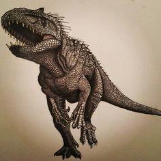 Jurassic World- Indominus Rex