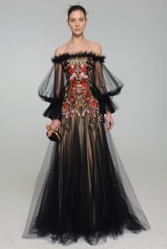 I have three words for this Alexander McQueen Pre Fall 2012 creation... decadent, romantic, exquisite. - xoxo BB