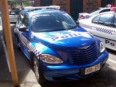 South Australia Police. Chrysler PT Cruiser