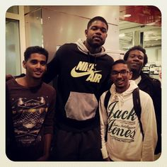 Amir Johnson remains a man of the people here in #Toronto!