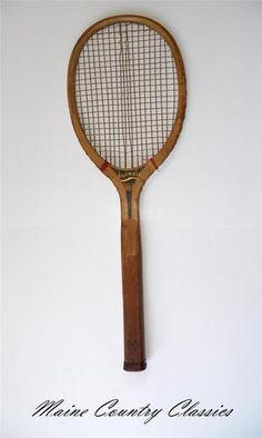 Vintage Wright Ditson Columbia Tennis Racket Antique Wood Racquet | eBay
