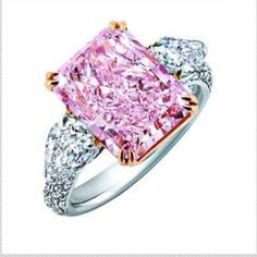 Asprey Pink Diamond Ring