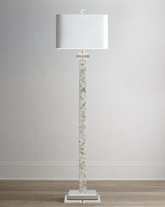 Mother-of-Pearl Floor Lamp - Horchow