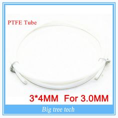 50 meter 1M 3*4MM PTFE Tube Teflon PiPe to J-head hotend RepRap Rostock Bowden Extruder for 3.0mm with free shipping #Affiliate