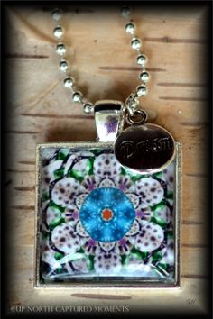 "'Up North"" - Michigan kaleidoscope of Petoskey Stones and Beach Glass.  www.etsy.com/shop/UpNorthCapturedMmnts"