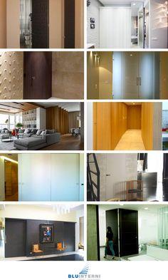 *** REALIZZAZIONI BLU INTERNI ***  Le porte Bluinterni chiudono gli spazi, aprono infinite possibilità progettuali; dividono gli ambienti, ma uniscono alla varietà di finiture la forza del #design. Le nostre realizzazioni comprendono tutta #Italia e l'Europa. Scoprile nel nostro sito: goo.gl/pNFvwi
