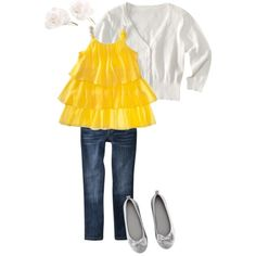 Possible outfit for Leah for family photos