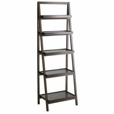 Morgan Tall Bookcase - Brown