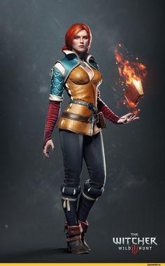 The Witcher,Игры,концепт-арт,Emhyr var Emreis,The Witcher 3 Wild Hunt,Трисс Меригольд