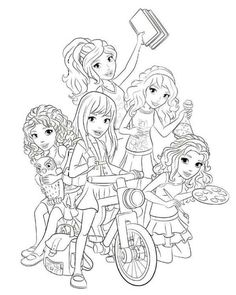 http://colorings.co/lego-friends-coloring-pages-for-girls/ #Pages ...