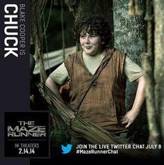 Chuck! #mazerunner