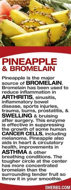 Pineapple and Bromelain