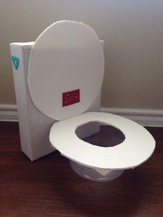 Todayu0027s Fabulous Finds: Flushing Toilet (Valentine Box) | Crafts |  Pinterest | Box