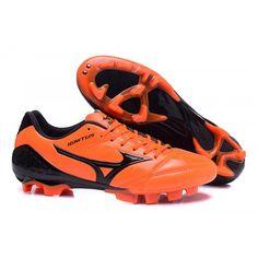 Mizuno Wave Ignitus 4MD FG Fotbollsskor Orange Svart Football Shoes b317feb95
